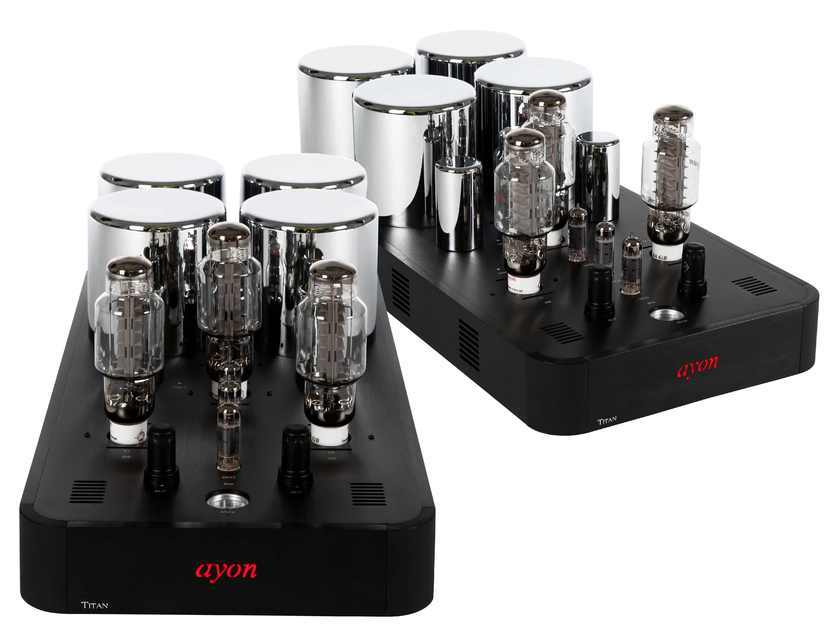 AYON AUDIO TITAN MONO AMPS SET 150 WATTS AWARD WINNING 7 YEARS RUNNING