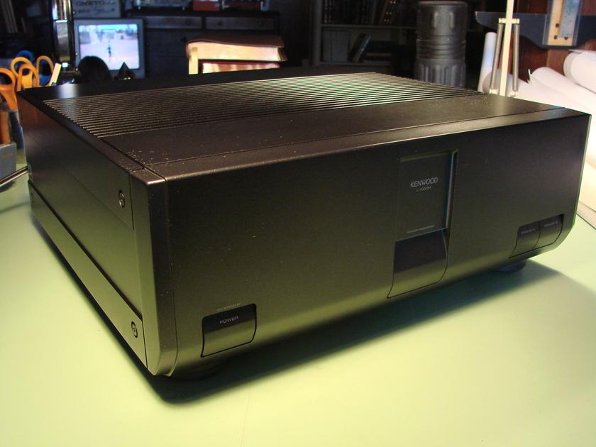 Kenwood L-1000M Amplifier Rare, Excellent In Original Packaging