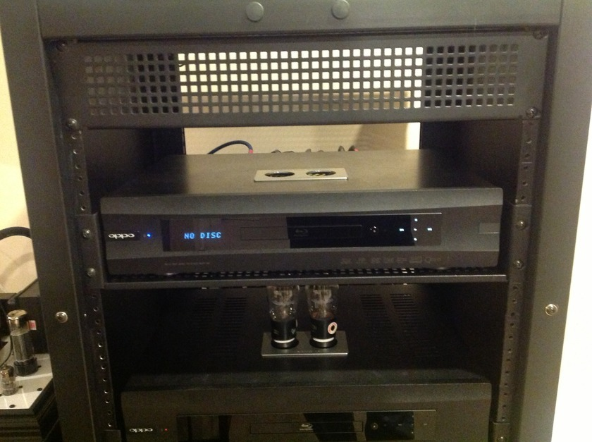 Modwright Oppo BDP-95 Tube and SS mod!