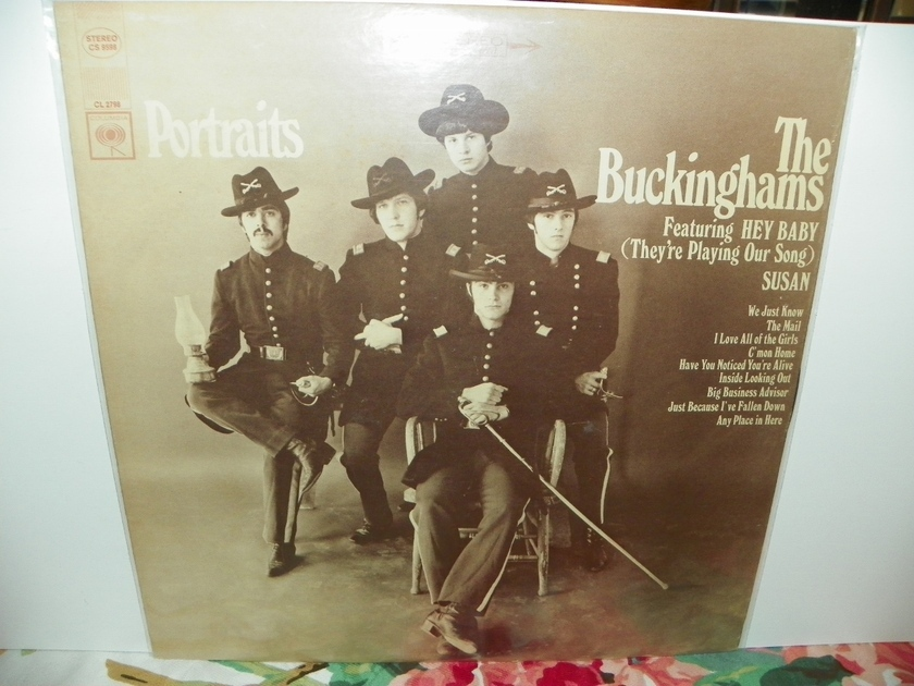 THE BUCKINGHAMS - PORTRAITS 1ST EDITION NM Rare LP