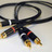 Cullen Cable Midline Crossover  Series RCA Interconnect...