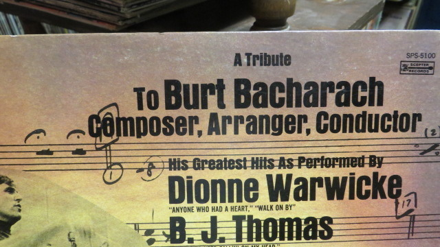 A TRIBUTE TO BURT BACHARACH  - VARIES ARTIST   GREATEST HITS AS PERFORMED BY