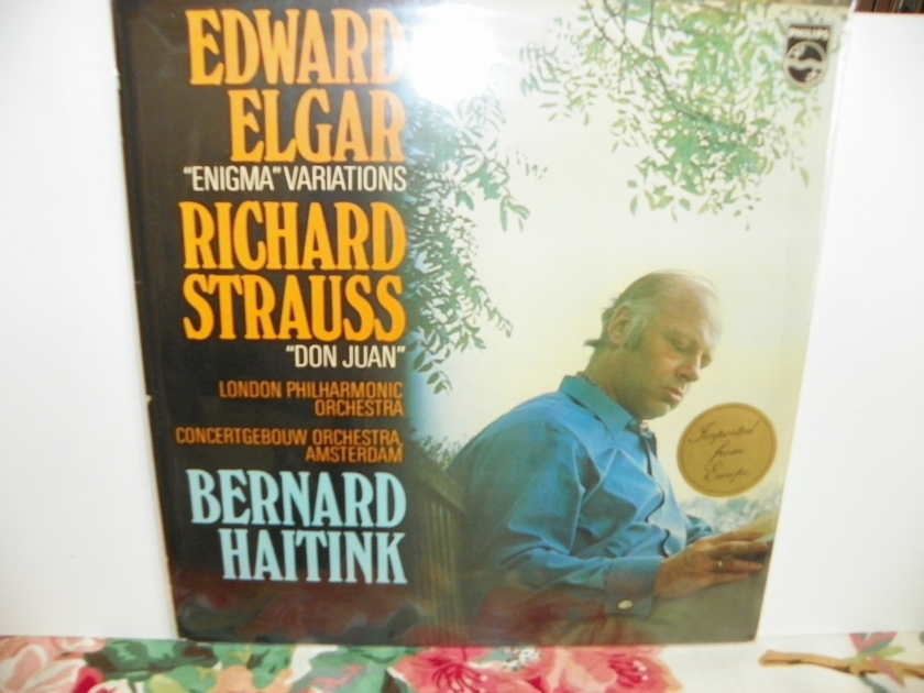 BERNARD HAITINK - EDWARD ELGAR/RICHARD STRAUSS Europe Import