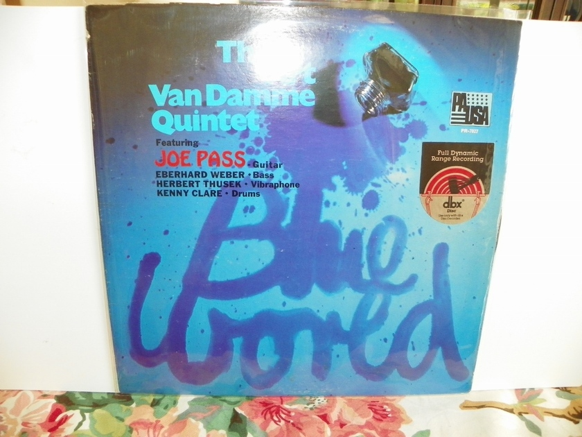 THE ART VAN DAMME QUINTET - BLUE WORLD dbx ENCODED