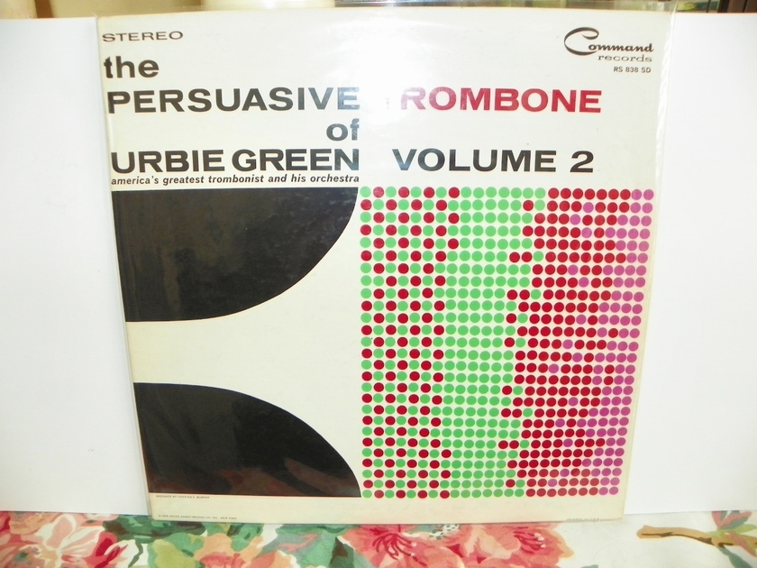 URBIE GREEN & HIS ORCH. - THE PERSUASIVE TROMBONE
