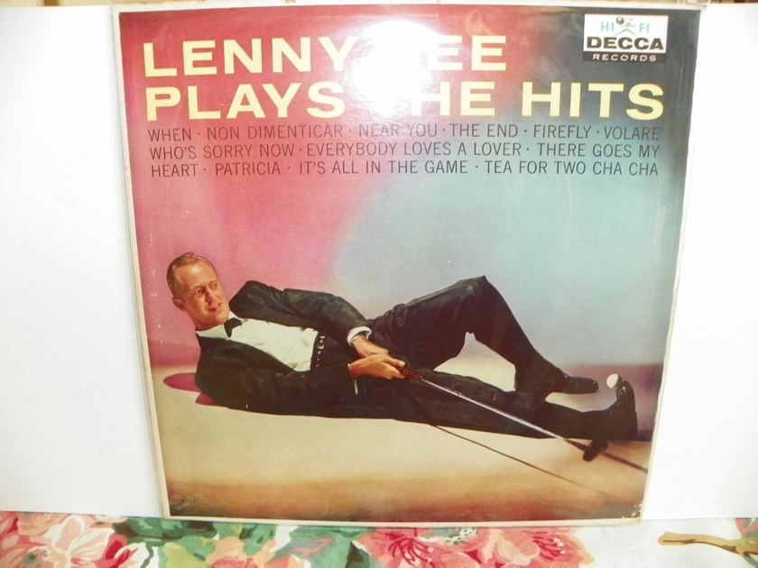 LENNY GREEN - PLAYS THE HITS Rare Mono