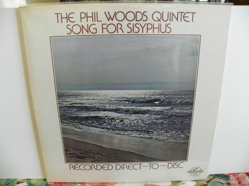 THE PHIL WOODS QUINTET - SONG FOR SISYPHUS Rare Limited Disc NM