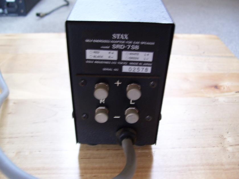 STAX SRD-7 SB Self-Energized Adaptor for Ear Speaker