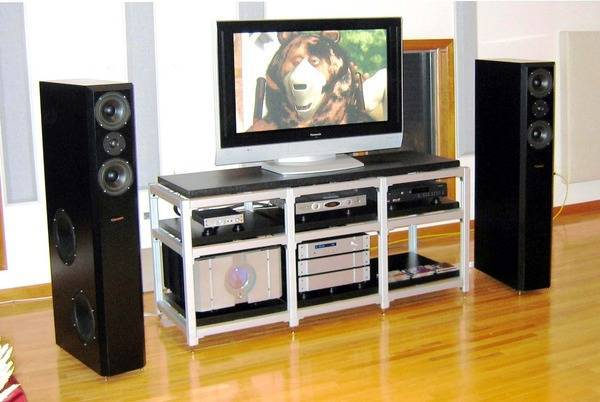 Fantastic 3 section A/V  rack