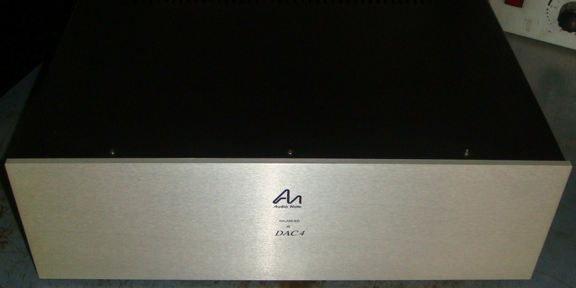 Audio Note DAC4.1X Digital to Analogue Converter,  Class A Valve Output Stage