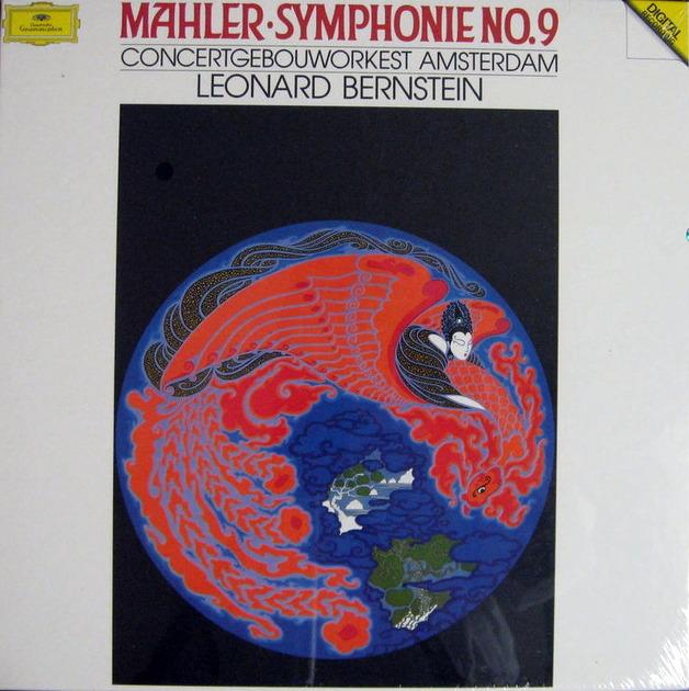 DG Digital / Mahler Symphony No.9, - BERNSTEIN/COA, MINT, 2LP Box Set!