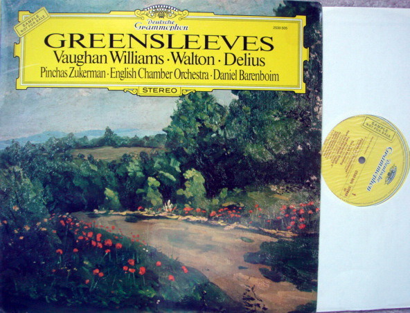 DG / Vaughan Williams Fatasia on Greensleeves, - ZUKERMAN/BARENBOIM/ECO, MINT, Promo Copy!