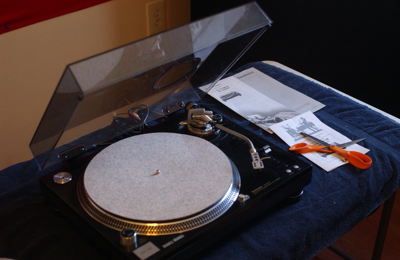 Technics SL-1210M5G SE KAB audiophile turntable