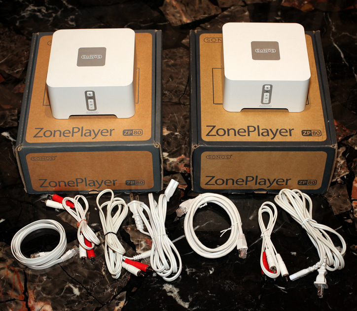SONOS ZP80 ZonePlayer (a.k.a. CONNECT) -Two Units For Sale