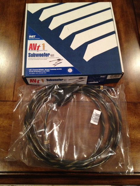 MIT AVT1 5m Subwoofer Kit