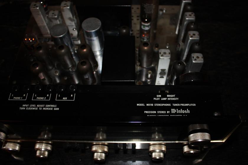 Mcintosh Mx-110 Tube Stereo Tuner Preamp ser.   264z4