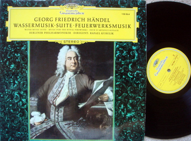 DG / Handel Water Music, Royal Fireworks, - KUBELIK/BPO, MINT!