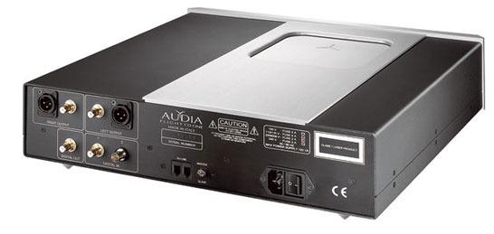 Audia Flight Flight CD One 24bit/192khz; (silver; mint)!