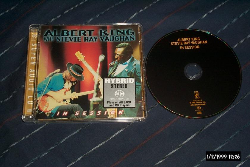 Stevie Ray Vaughan - Albert King In Session SACD hybrid NM