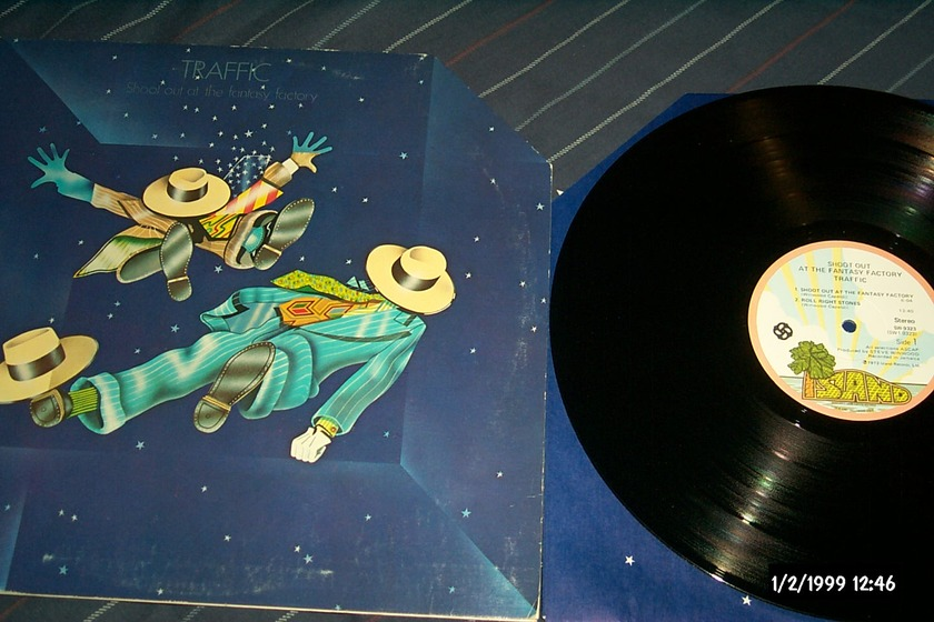 Traffic - Shoot Out At The Fantasy Factory LP NM First Pressing