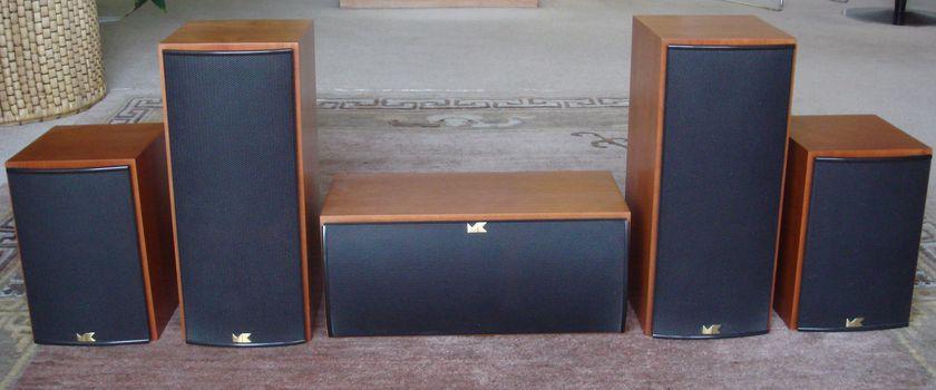 Miller & Kreisel LRC 850 5 speaker surround sound system
