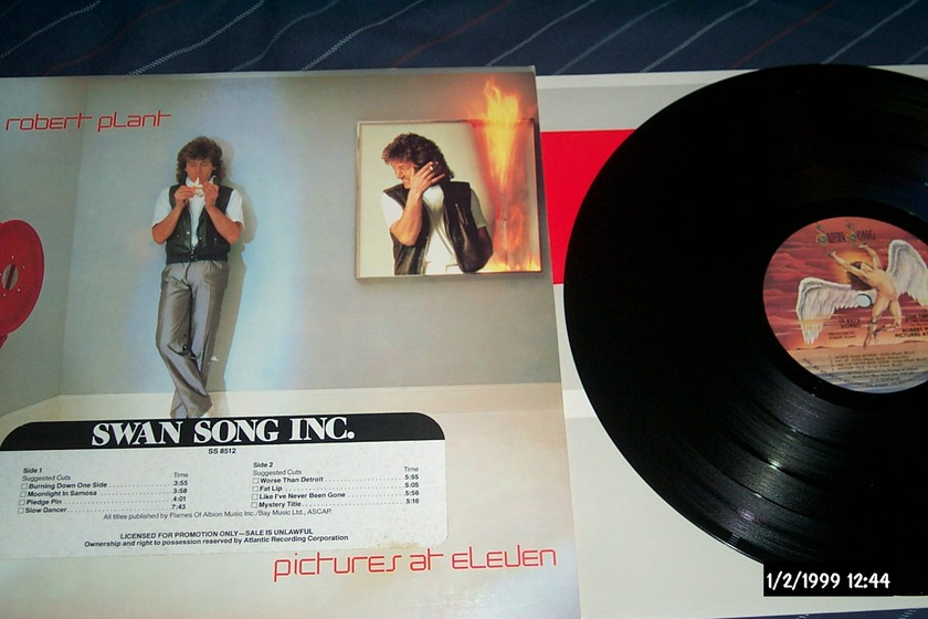 Robert Plant - Pictures At Eleven Promo lp nm
