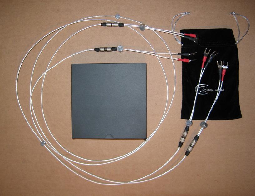 Crystal Cable CrystalSpeak Reference 2 Meter Spade