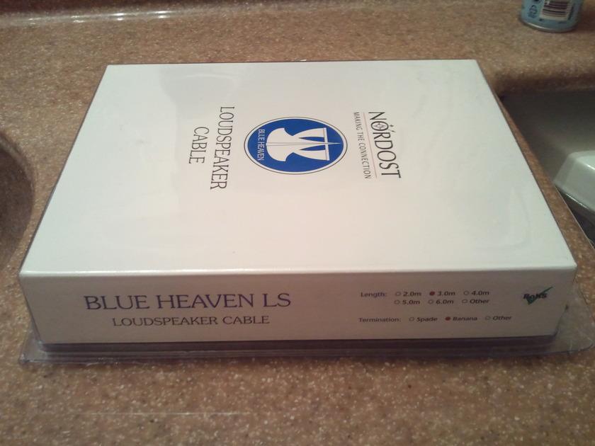 Nordost Blue Heaven LS sg speaker cable 3 meter long