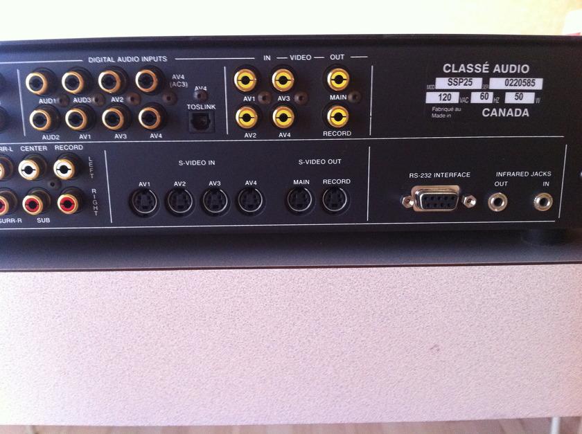 Classe SSP 25 Pre Amp/Surround Sound Processor