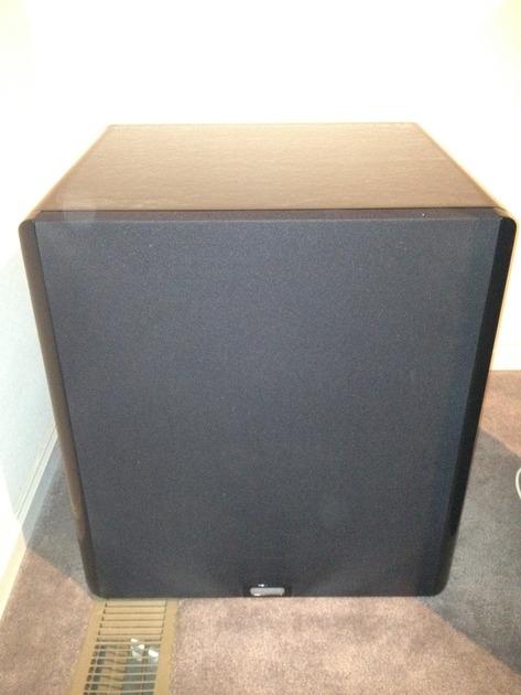 Velodyne DD18 Gloss Black
