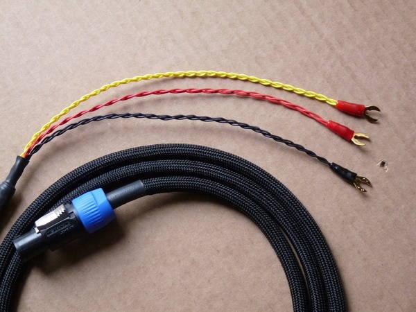 Rel  Neutrik Custom subwoofer cable