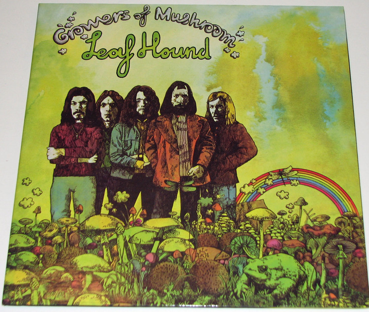 Leaf Hound - Growers of Mushroom 180-gram vinyl reissue Near Mint