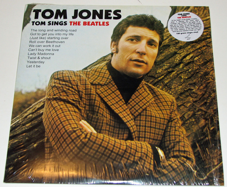 Tom Jones - Tom Sings The Beatles 180-gram vinyl reissue Near Mint