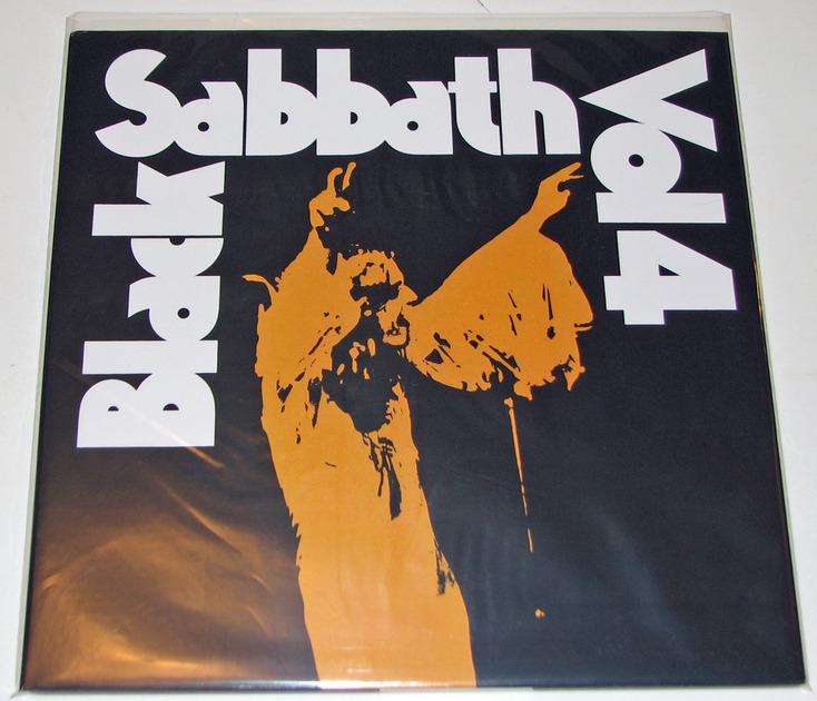 Black Sabbath - Vol 4 180-gram vinyl reissue Near Mint
