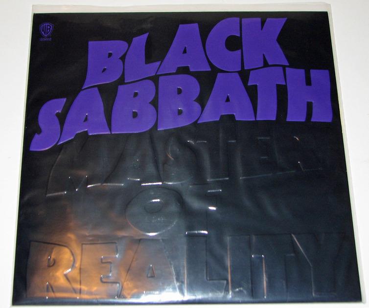 Black Sabbath - Master Of Reality 180-gram vinyl reissue Near Mint
