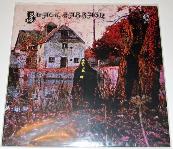 Black Sabbath - Black Sabbath 180-gram vinyl reissue Near Mint-