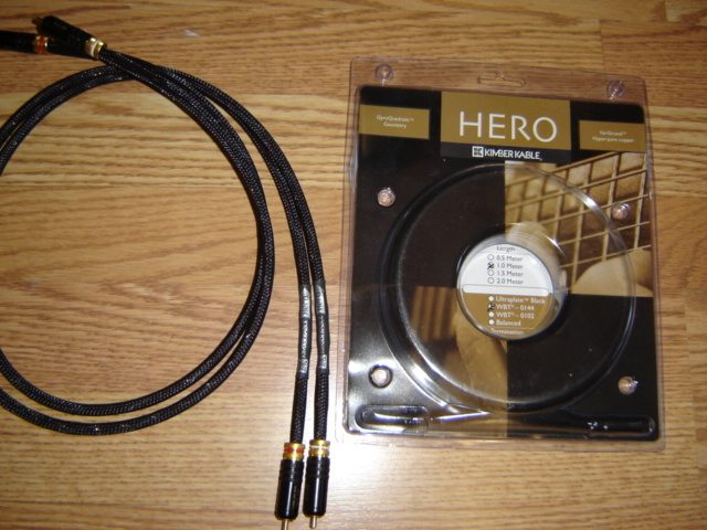 Kimber Kable Hero RCA/XLR