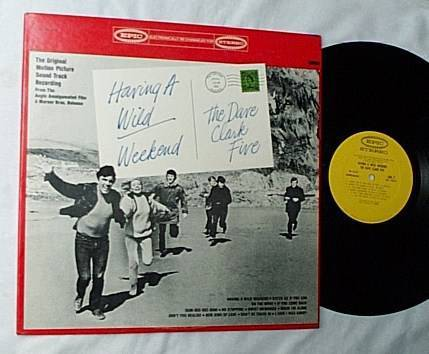 Dave Clark Five Lp- - Wild weekend-very rare orig 1965 album-epic
