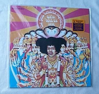 Jimi Hendrix Lp-Axis - bold as love-sealed hendrix family release album