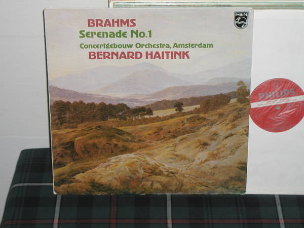 Haitink/COA - Brahms Serenade No 1 Philips Import Pressing 9500