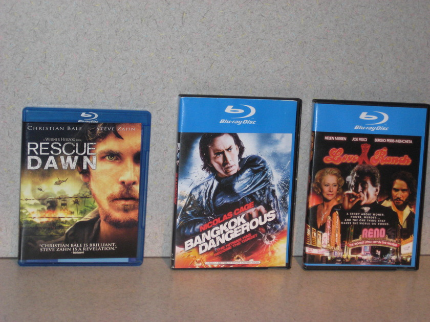 "Great Blu-Rays Cheap! - ""Great Titles"" You won't be dissappointed!"
