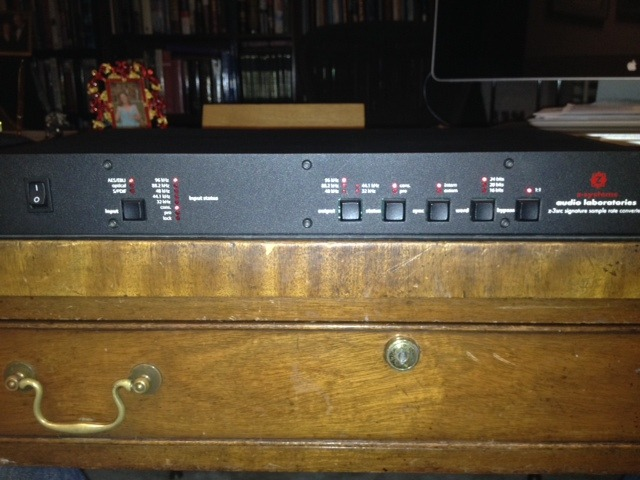 Z-Systems Audio Engineering z-3src Sample Rate Converter