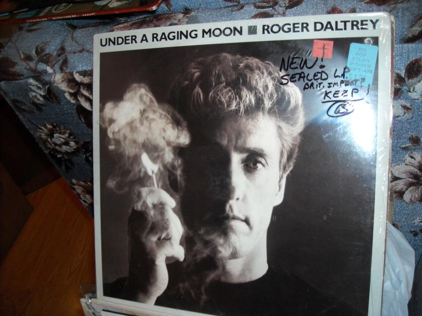 Roger Daltrey - Under A Raging Moon Atlantic LP (c) Sealed