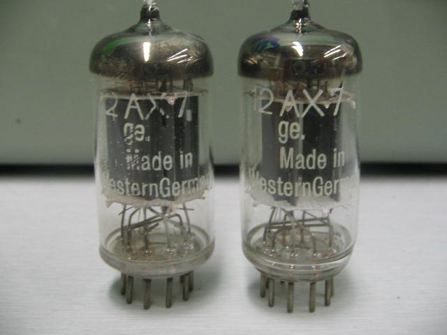 Telefunken ECC83 12AX7 Early 50's pair excellent!