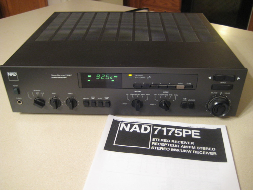 NAD 7175PE AM/FM high current receiver