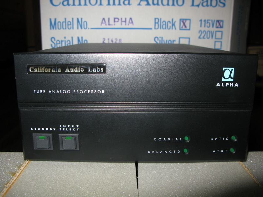 California Audio Labs Alpha D/A Converter