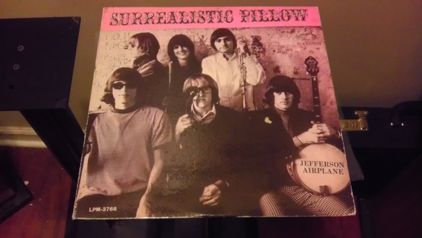 MONO Jefferson Airplane  - Surrealistic Pillow J Garcia LPM-3766 1967 NM-