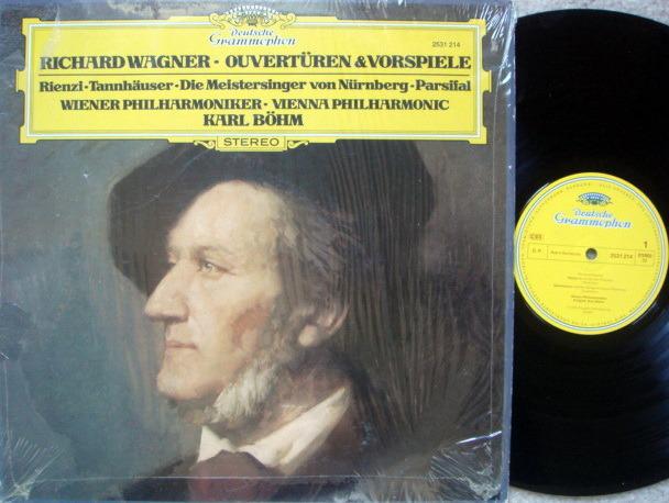 DG / Wagner Overtures & Preludes, - BOHM/VPO, MINT!