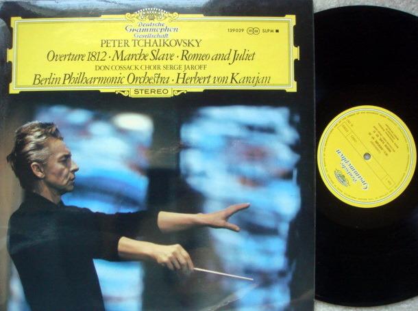 DGG / Tchaikovsky 1812 Overture / - Marche Slave, KARAJAN/BPO, MINT, UK Press!