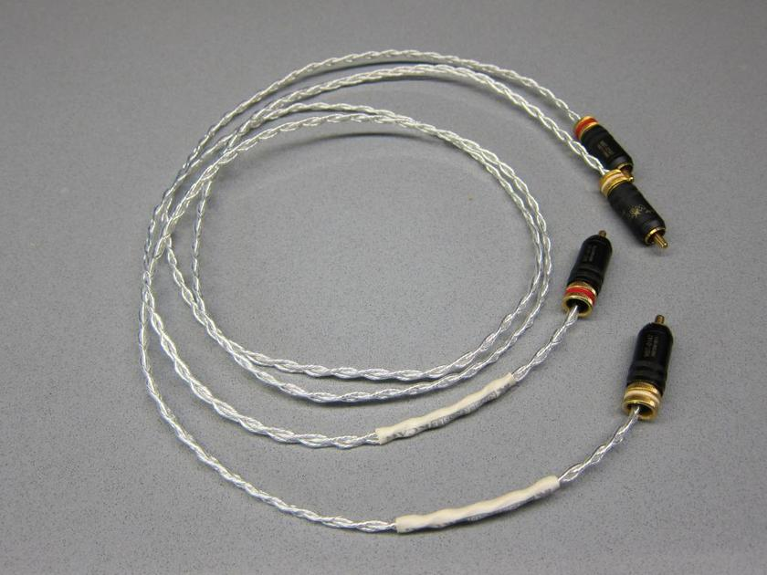 Kimber Kable KCAG 3ft/1m RCA WBT-0147 Silver interconnects
